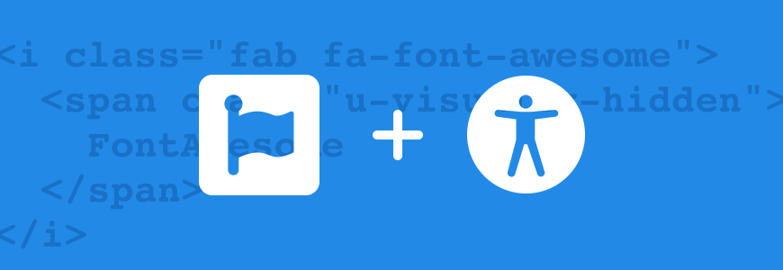 Code and icons from fontawesome